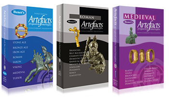 OFFER Buy all 3 Benet's Artefacts books for only £65