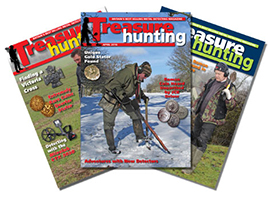 OFFER 1: Treasure Hunting Magazine - 12 issues for £42.40 - save £5 (post free - UK only)