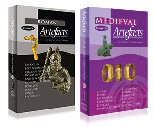 OFFER Buy both Benet's Roman and Benet's Medieval Artefacts books for £40