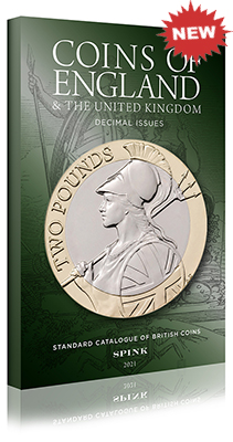 Spink Coins of England 2021 (Post-Decimal) **NEW DECEMBER 2020 - NOW IN STOCK**