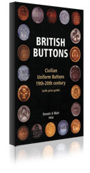 British Buttons (inc. price guide) by Dennis G Blair