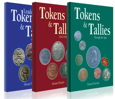 All 3 Tokens & Tallies books by Ted Fletcher