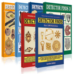 Detector Finds books 1-7 by Gordon Bailey