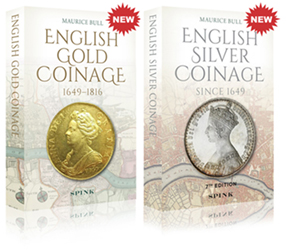 OFFER BUY BOTH SILVER AND GOLD COINAGE BOOKS  FOR £80 - SAVE £20