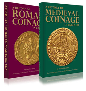 OFFER Buy both A History of Roman Coinage and A History of Medieval Coinage for £40