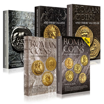 Roman Coins and their Values Vols 1-5